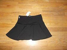 POLO Ralph Lauren Little Girls Solid Black Skirt Size M 8-10 NWT!!