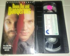 Down, Out, and Dangerous Vhs Original Thriller Release RARE TAPE Plays Perfect