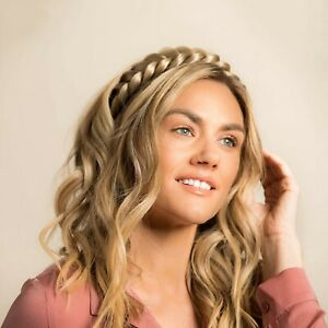 Madison Braids Two Strand Braided Headband Womens Hair Braid Extension - Halo