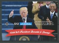 St Vincent & Grenadines 2017 MNH Donald Trump 45th US President 1v S/S Stamps