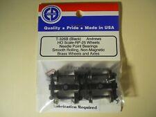 EB Trucks Andrews Trucks (brass wheels & axles) T-326B (Black) HO scale