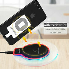 For iPhone 7/7 Plus / 6 /6 Plus /5 Qi Wireless Charger Adapter Charging Receiver