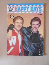 HAPPY DAYS Fonzie Tv Club n°9 1979 - Poster Lucio Dalla  [G509] BUONO
