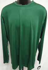 Easton Spirit Long Sleeve Jersey T Shirt Tee Bio-Dri UV Protection XL GREEN