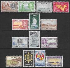Tonga 1953 Set to £1 (Mint)