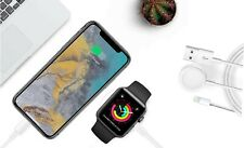 Zummy Magnetic Charger 2 in 1 USB Cable For Apple Watch iWatch & iPhone