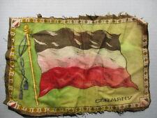 "New listing Vintage Early 1900s Tobacco Felt Flag - Germany 10.25"" x 7.25"""