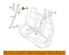 NISSAN OEM Front Seat Belt-Adjuster Nut 878579Y00A