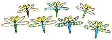 """dragonfly set fabric applique iron on Frog chef cookout bbq grill 2"""" inch"""