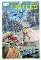 Teenage Mutant Ninja Turtles #29 RI Cover 2011 IDW Comic Signed by Tom Waltz