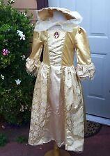 DISNEY PIRATES CARIBBEAN ELIZABETH SWANN SWAN WEDDING DRESS COSTUME GIRL L 8 10