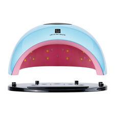 80W Led Uv Nail Polish Dryer Lamp Gel Acrylic Curing Light Professional Kit D3N1