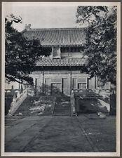 1920's CHINA GRAVURE PAGEANT OF PEKING DONALD MENNIE - TEMPLE OF CONFUCIUS