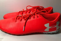Under Armour Mens Sneakers Color Bright Orange Size 13