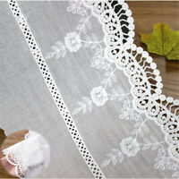 1//2 wide  lace trim = selling by the yard //select color// 2 colors