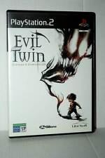 EVIL TWIN CYPRIEN'S CHRONICLES USATO OTTIMO SONY PS2 EDIZIONE ITALIANA GD1 42515
