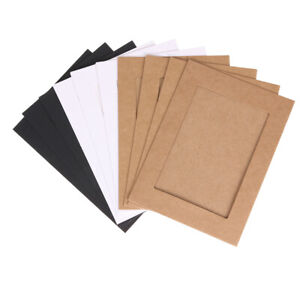 10pcs 7 inch Wall Hanging Photo Paper Frame Picture Display Modern Art Home