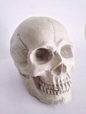 3D big human bone skull fondant cake silicone chocolate soap candles mold tool