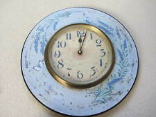 Distressed Lavender French Vintage large Kitchen Wall Clock country shabby chic