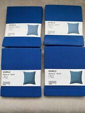 Ikea Gurli Square Cushion Covers Blue X4 50 X 50 Cm