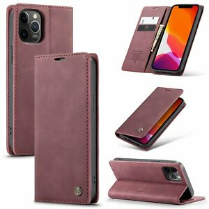 For Samsung Galaxy Note 20 10 S20 for iPhone 12 11 Xr Xs 7 8 Case Wallet Cover