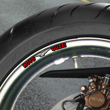 MOTO GUZZI WHEEL RIM STICKERS CHOICE OF COLOURS B