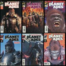 Planet of the Apes POTA Comic full set 1-2-3-4-5-6 Lot Dark Horse Photo Covers