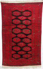 200x120 cm Einmalige antik Turkmen Nomaden SARYK Teppich Nord- Afghanistan