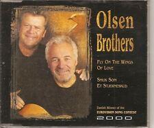 OLSEN BROTHERS Fly On The Wings Of Love CD single danish winner of eurovision