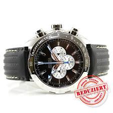 Festina Herrenuhr F16489/9 Lederband Chronograph Uhr