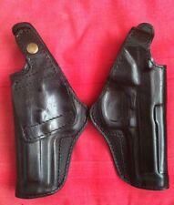 Black Leather RH Holster for Beretta 92 92FS M9 96  formed molded, New