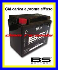 Batteria BS SLA Gel KAWASAKI ER-6N 650 06>07 carica pronta all'uso ER6 2006 2007