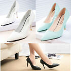 Fashion Women's Classic Pointed Toe Classic Dress Pump High Heel Shoes
