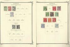Australia Stamp Collection 1913-169 on 30 Scott Specialty Pages, JFZ