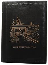clinchco virginia family and community history 1850-1980.  Leather. Gilt. New.