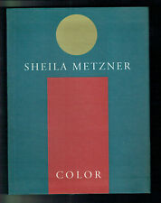 Livre SHEILA METZNER - COLOR Photographe Photos Couleurs 176 Pages 1991