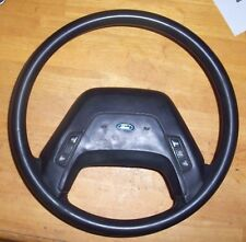 1987 Ford F150 Vinyl Steering Wheel Assembly Black Nice With Cruise Control