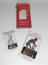 THE STARTER TAROT DECK 1977 Stuart R. Kaplan Usa full box cards, tarocchi, carte
