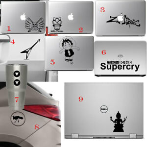 Die Cut Decal Sticker for Macbook Air Pro Laptop Car Window Home Wall Door Cup