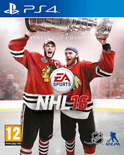 NHL 16 (Hockey) PS4 Playstation 4 IT IMPORT ELECTRONIC ARTS