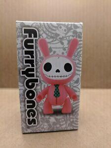 NIB Toy Figure Furrybones Pink Bun Bun Vinyl