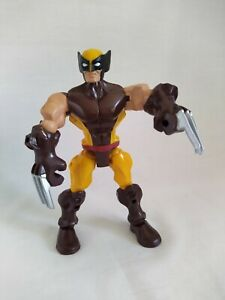 "Marvel Super Hero Mashers 'WOLVERINE' Jointed 6.5"" Figure HASBRO (2013)"