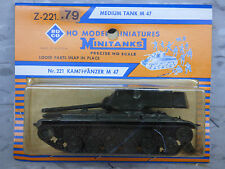 Roco Minitanks / Herpa (NEW) Modern US M-47 Patton Main Tank Lot #862K