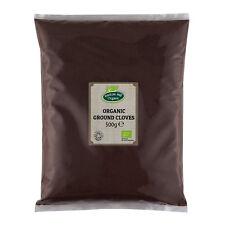 Organic Ground Cloves Powder 500g Certified Organic