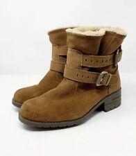 Caterpillar Jory Boots Toffee Suede Women's Sz US 9