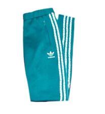 Adidas Originals Firebird Track Pants Dark Mint UK 8