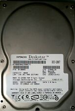 80 gb Sata Hitachi Deskstar hds721680pla380 disco rigido interno