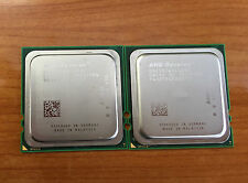 Lot of 2 AMD Opteron 2384 OS2384WAL4DGI 2.7 GHz Socket Fr2 Quad Core CPU