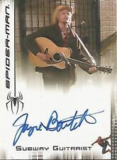 "Spider-man 3 - Jayce Bartok ""Subway Guitarist"" Autograph Card"