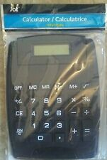 Jot 8 Digit Display Black Calculator